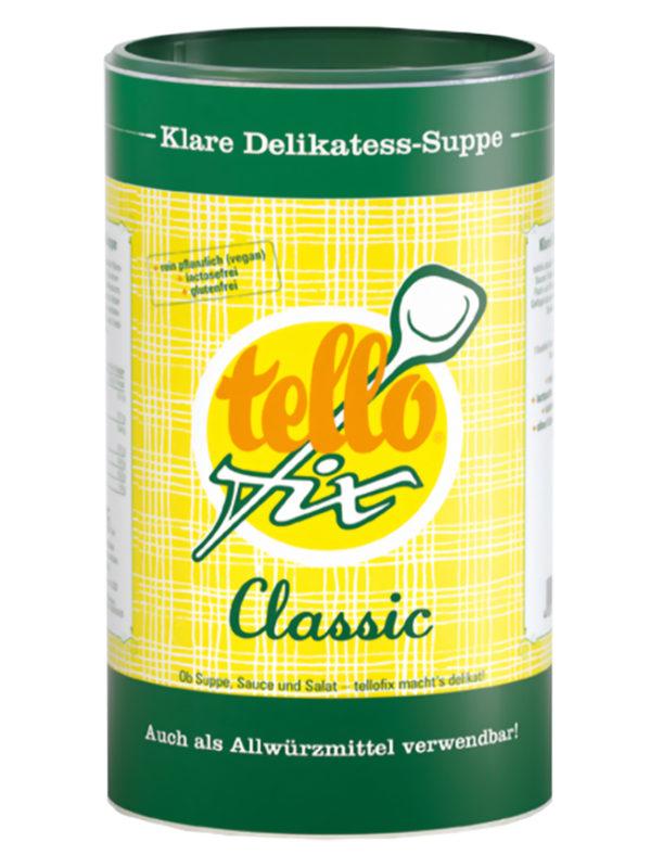 tellofix Classic Klare Delikatess-Suppe