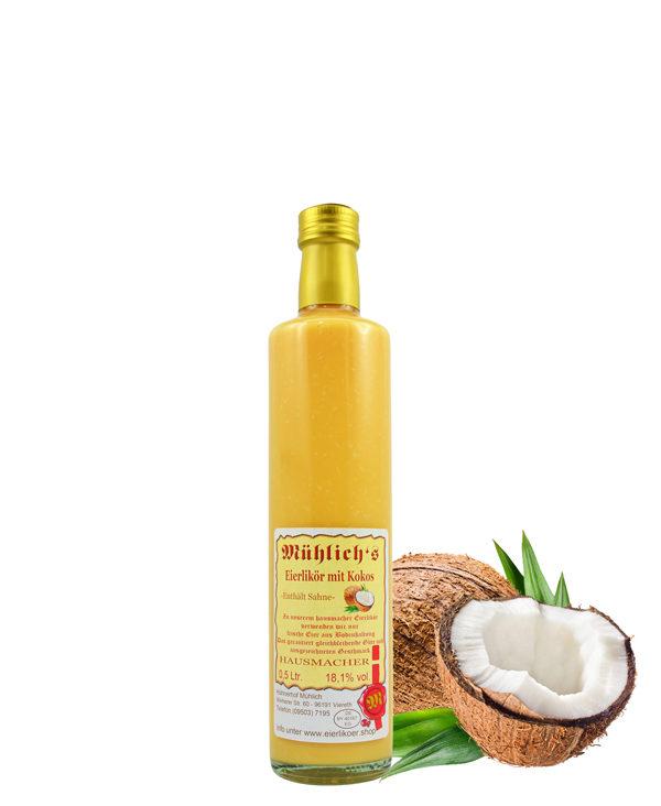 Mühlich´s Eierlikör mit Kokos
