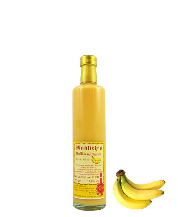 Mühlich´s Eierlikör mit Banane