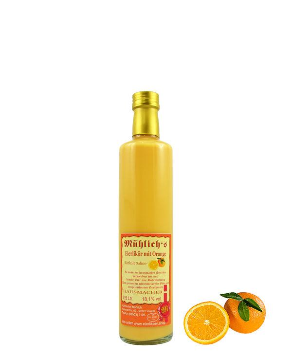 Mühlich´s Eierlikör mit Orange