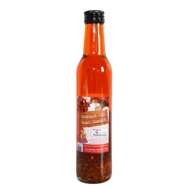 Nudel Gewürzöl – Knoblauch Chili